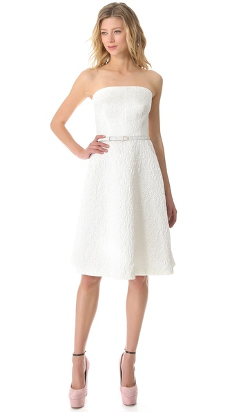 Rochas Strapless Dress