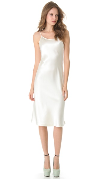 Rochas Silk Sleeveless Dress