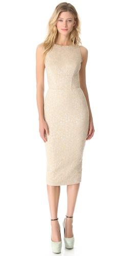 Rochas Sleeveless Pencil Dress