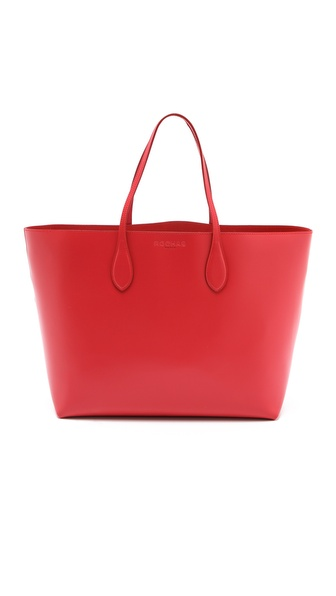 Rochas Borsa Leather Tote