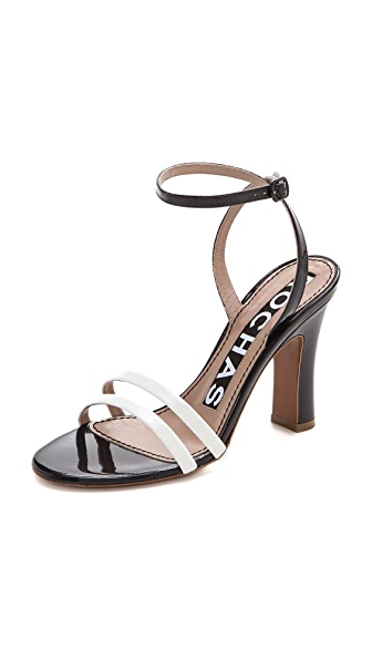 Rochas Ankle Strap Sandals