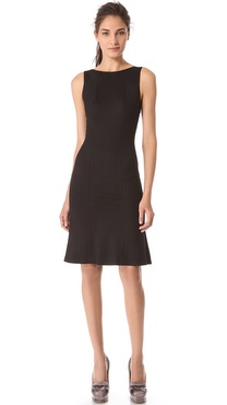 Rochas Sleeveless Jersey Dress