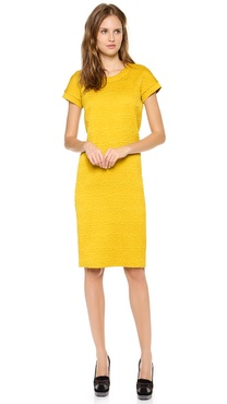 Rochas Short Sleeve Dress