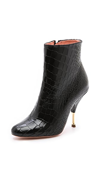 Rochas Leather Boots
