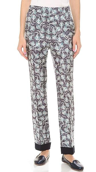 Rochas Silk Pants