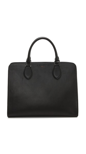 Rochas Leather Satchel
