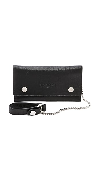 Rochas Wrist Chain Key Clutch