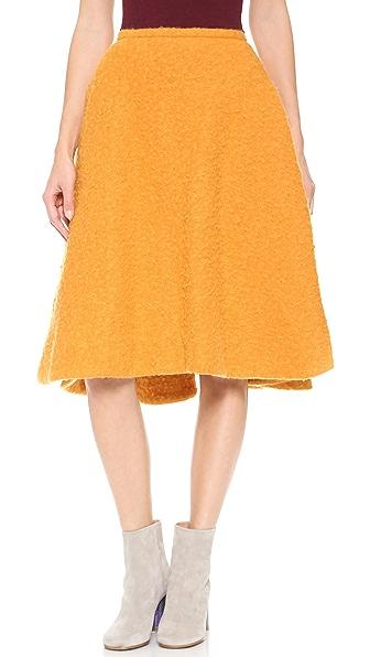 Rochas Woven Skirt