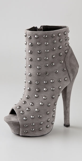 Rock & Republic Gabriel Studded Suede Booties