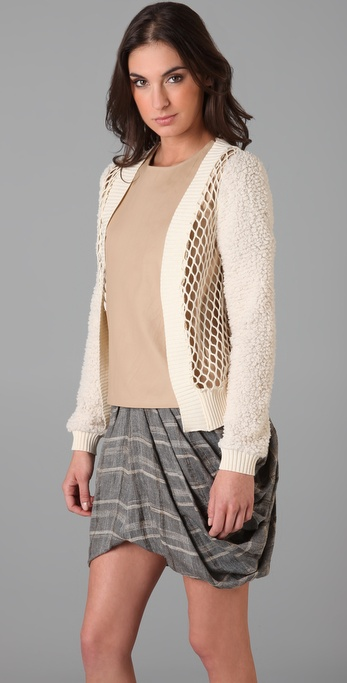 Rodarte for Opening Ceremony Net Cardigan