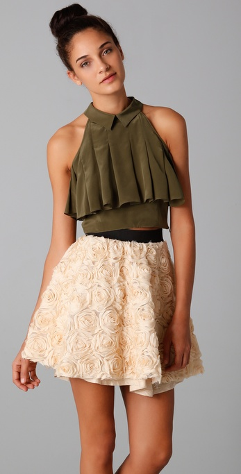 Rodarte for Opening Ceremony Peplum Top