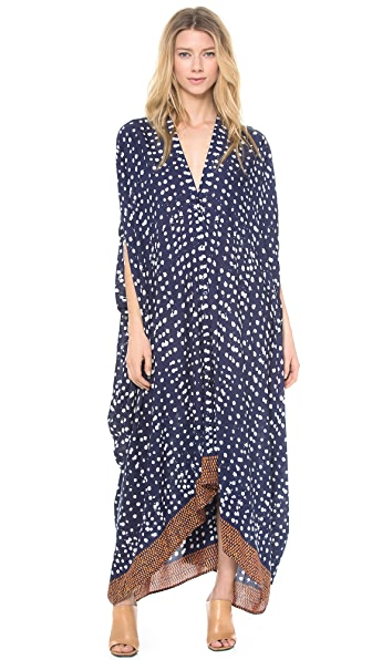 Rodebjer Drop Print Caftan Maxi Dress