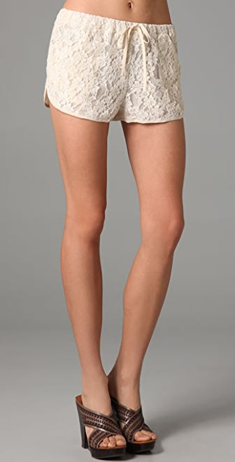 Rory Beca Retro Running Lace Shorts