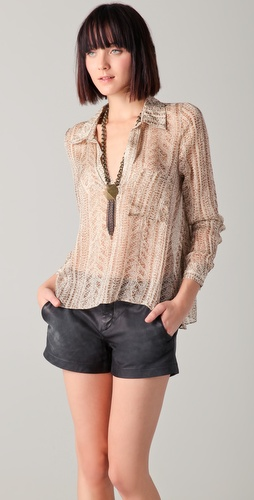 Rory Beca Jacob Trapeze Blouse
