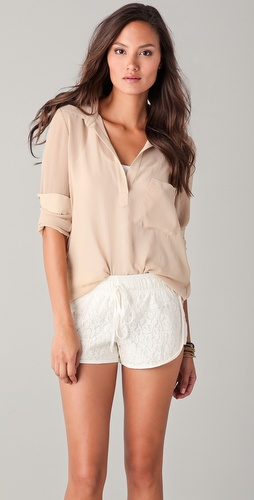 Rory Beca Shey Drape Back Blouse