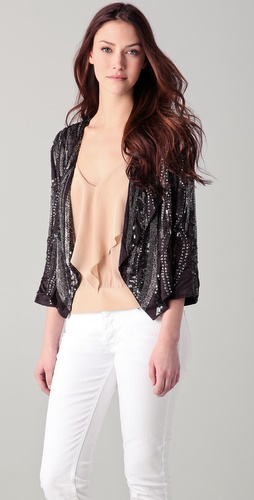 Rory Beca Sequin Bead Jacket