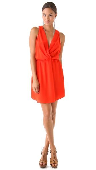 Rory Beca Maya Shirttail Wrap Dress