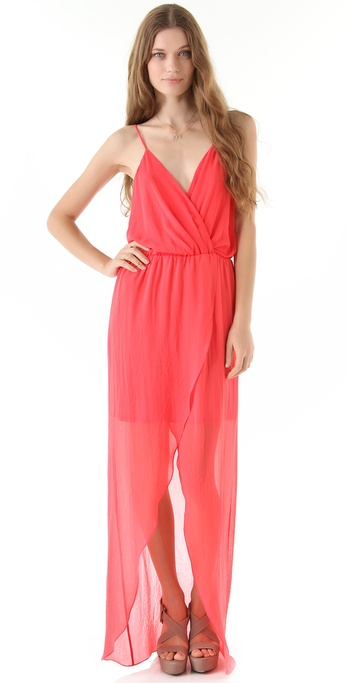 Rory Beca Jones Wrap Gown