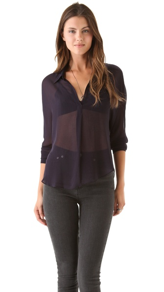 Rory Beca Cleave Pleated Blouse