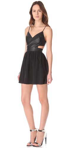 Rory Beca Cherry Cutout Dress