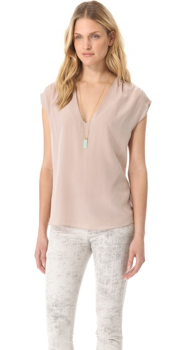 Rory Beca Valentine Shirred Top