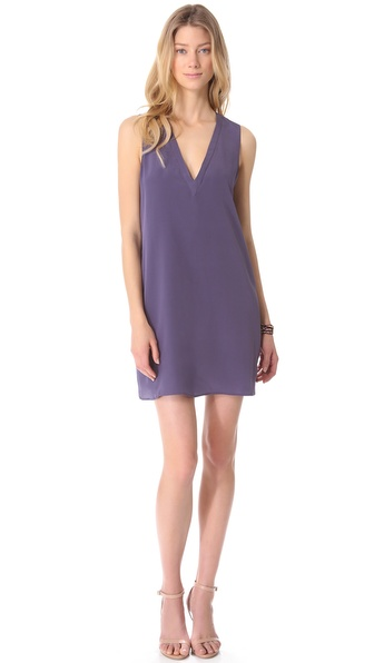 Rory Beca Mouton Open Back V Dress