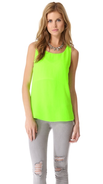 Breezy Neon Tank Top :  fashion neon style breezy