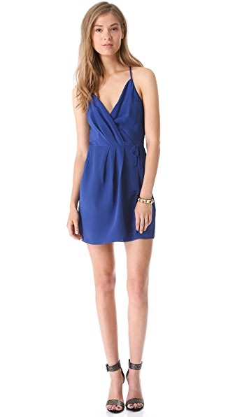 Rory Beca Bijou Asymmetrical Wrap Dress