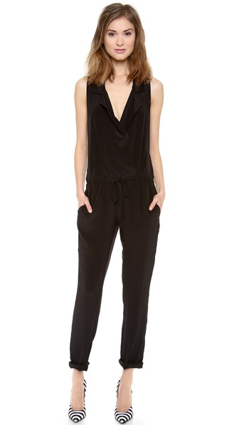 Rory Beca Lewis Jumpsuit with Collar