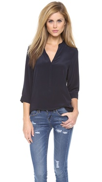 Rory Beca Joseph Skinny Placket Blouse