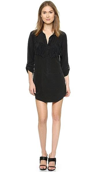 Kupi Rory Beca haljinu online i raspordaja za kupiti Rory Beca Shabba Silk Fringe Dress - Onyx online