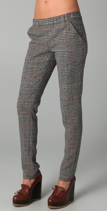 Roseanna Lulla Plaid Pants