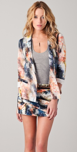 Roseanna Fireworks One Button Blazer