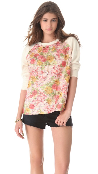Roseanna Starr Floral Sweatshirt