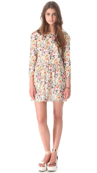 Roseanna Anika Floral V Back Dress