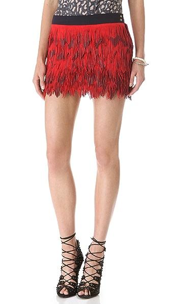 Roseanna Son Fringe Suede Skirt