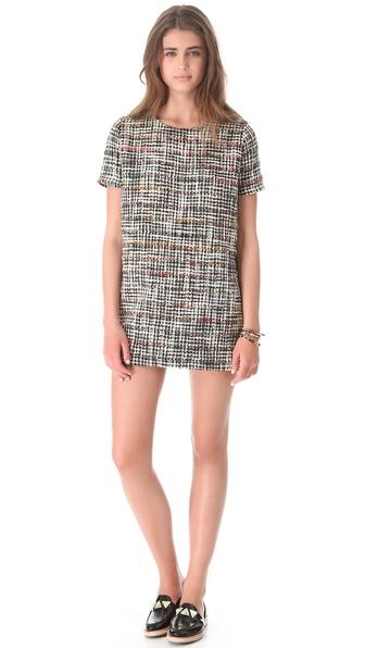 Roseanna Key Boucle Dress