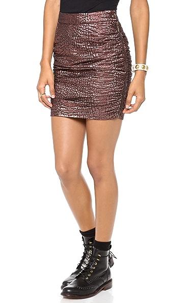 Roseanna Manson Miniskirt
