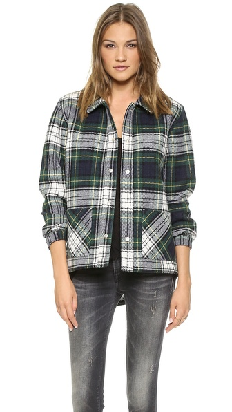 Roseanna Worker Button Down Coat