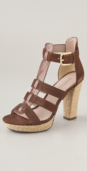 ROSEGOLD Pana T Strap Sandals