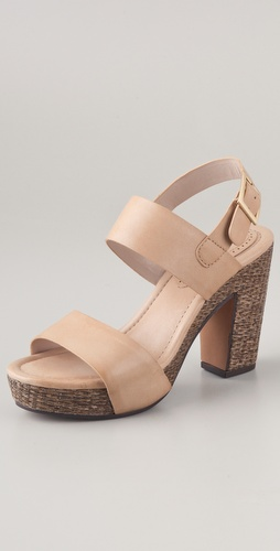 ROSEGOLD Tanya Platform Sandals