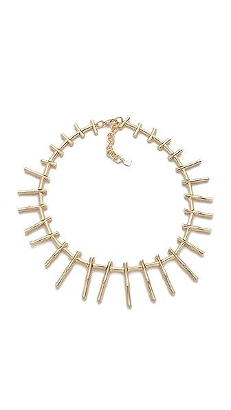 Rose Pierre Golden Tropical Romance Collar Necklace