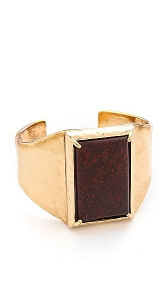 Rose Pierre Mosaic Tile Cuff Bracelet