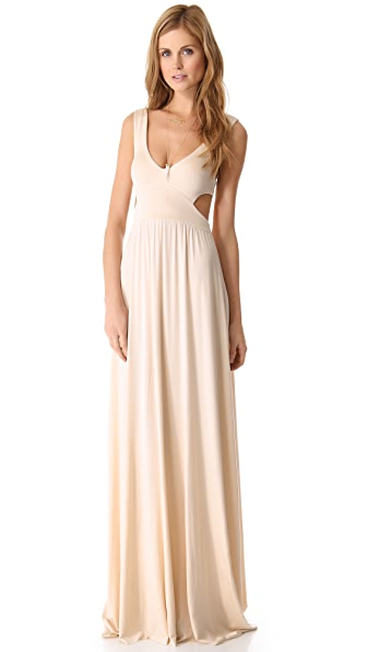 Rachel Pally Long Cutout Dress - Cream