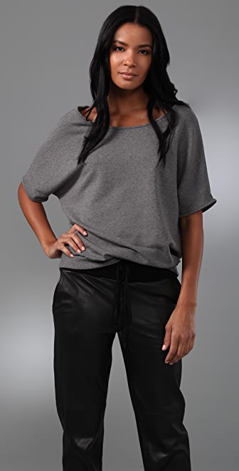 Rachel Pally Fleece Zuma Top