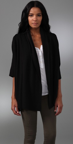 Rachel Pally Oversized Fleece Cardigan