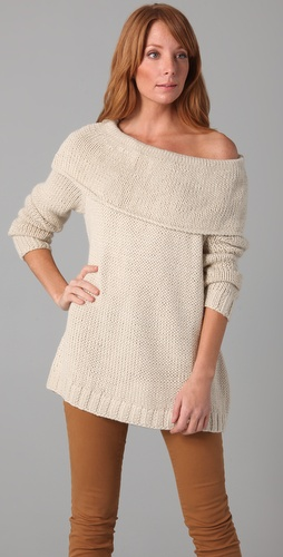 Rachel Pally Chunky Cowl Sweater
