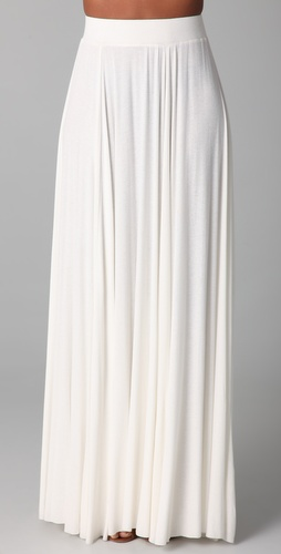 Rachel Pally Seam Rib Maxi Skirt
