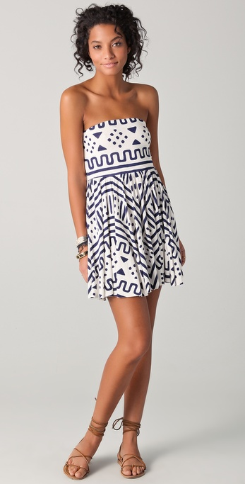 Rachel Pally Marley Strapless Mini Dress