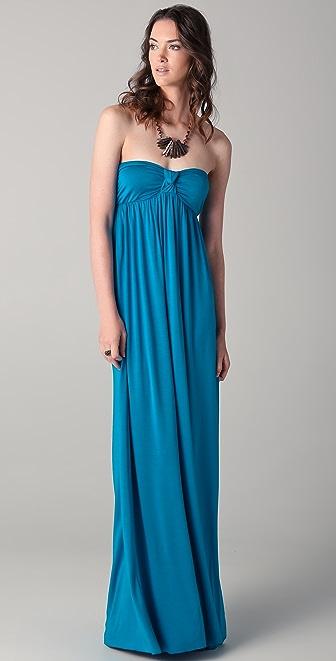 Rachel Pally Omega Strapless Dress